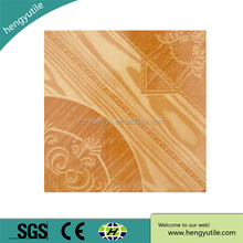 cheap price chinese factory ceramic 12x12 wooden floor tile