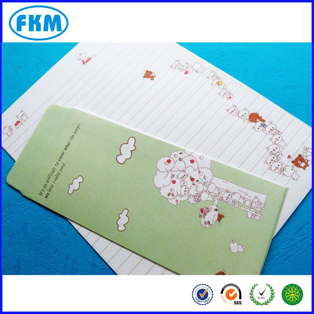 korea letter pad writing fancy colorful paper envelopes buy
