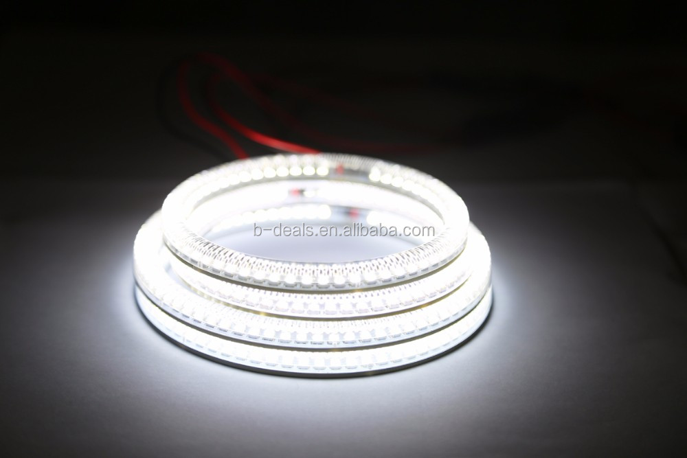 4 pcs 131mm E36 E39 E46 Projector LED ANGEL EYES,SMD Angel Eyes Kit for bmw