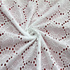 2015 High quality fabric suppliers white cotton embroidery fabric
