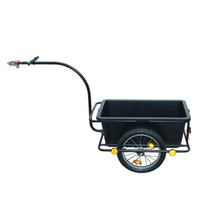 plastic poly bike bicycle motorcycle folding cargo utility trailer