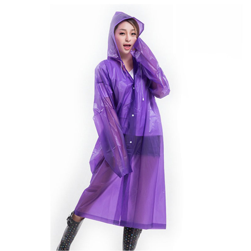 Colorful Women EVA Raincoat