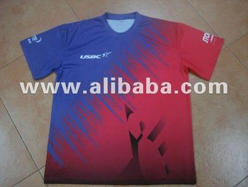 Sell 100% Polyester Dri-Hi Sublimatied T-Shirt with CHEAP Price for giveaway