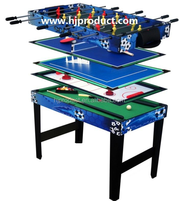 4 In 1 Multi Game Table   Billiards, Air Hockey, Tennis Table