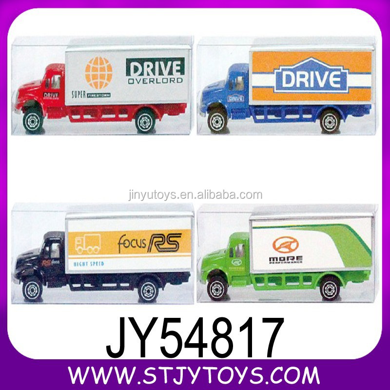 Custom design miniature diecast models toy truck