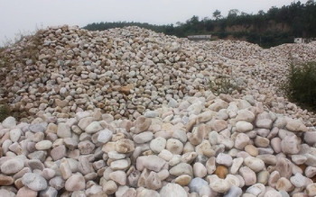Low price refined Pebble(Gravel) Filter Media for water treatment With Besrt price and quality