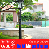 4m height IP65 normal garden light cast aluminum park garden light