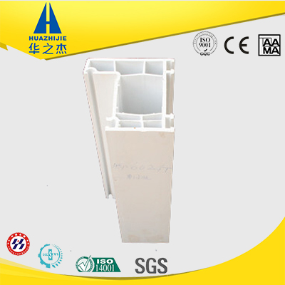 Factory supplier pvc upvc vinyl white profile for door and window