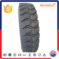 chinese bias truck tire 7.50-20 for mining and industrial