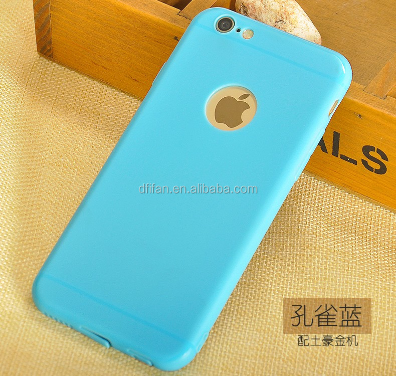 Free Sample Phone Case For iPhone6 7 Ultra Thin Soft Tpu Matte Phone Cace Mix Color For iPhone 6 7