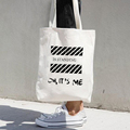 Direct Factory Price Blank Natural Cotton Canvas Tote Bag