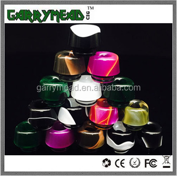 Most popular acrylic goon driptip 810 mushroom drip tip from factory 810 drip tip resin drip tip pom drip tip pei drip tip 510 d