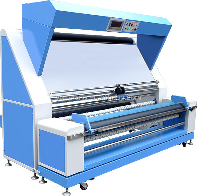 Electronic automatic edge fabric inspection and measuring machine, Automatic knitted and woven fabric inspection table