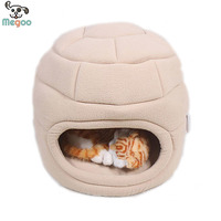 All Season Used Cat Bed Soft Fleece Washable Cat House