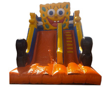 Giant spongebob inflatable water slide 2016/spongebob inflatable slide