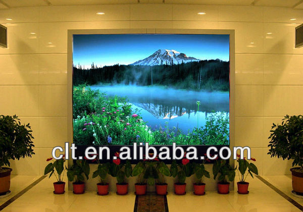 P4 High definition indoor die cast aluminum cabinet led display( light,thin,tranparency)