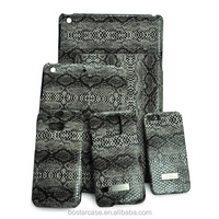 Snake Skin Grain design PC+ PU Leather case for Samsung Galaxy S5, HTC M8,Ipone5/5s, Ipad mini
