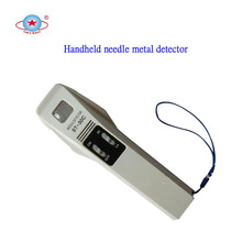 Suitable handheld metal detector for food