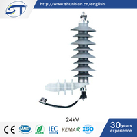 SHUNTE MOA 24KV Composite Surge Protection Device Lighting Arrester For Trade Assurance