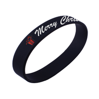 direct factory custom design black rubber band