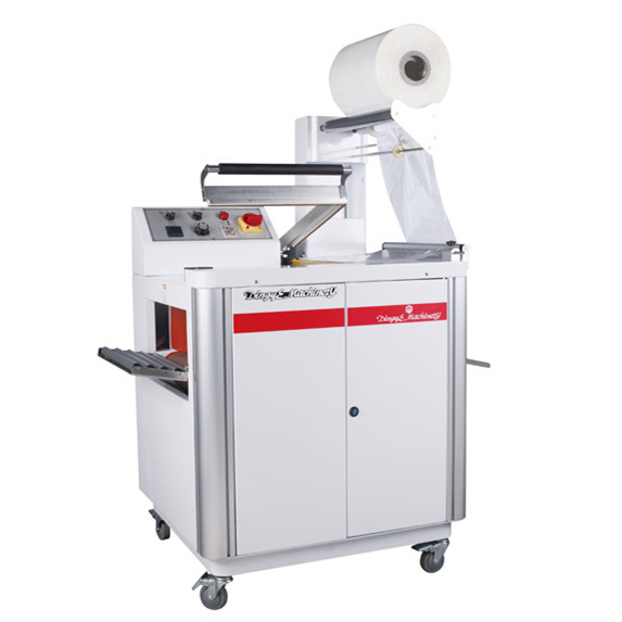 2 in 1 manual l sealer shrink wrap packing machine for pof/pvc film