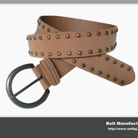 Custom Casual Studs Rivet Pu Belts