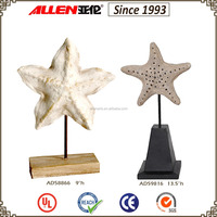 "9.1"" factory direct wholesale resin starfish"
