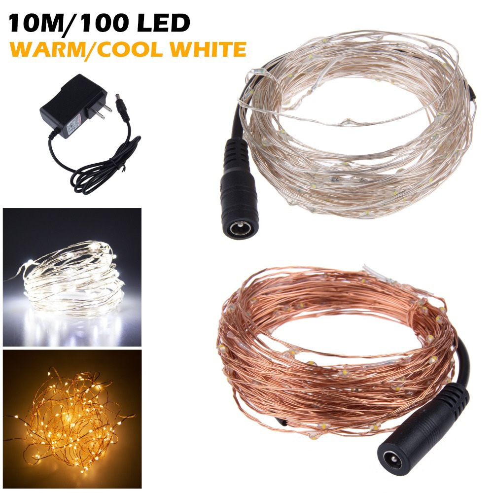 Dc12v 20w Led Naked Ultra Thin Wire String Lights 33ft - Buy Led ...