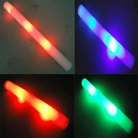 fashion changing color led foam glow stick