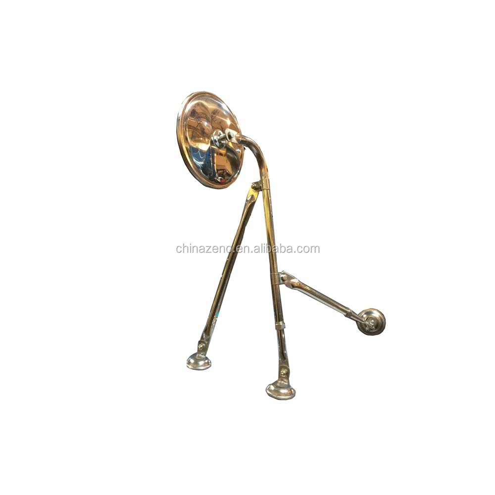 "Chromed 8 1/2"" Tripod Fender Mirror,Freightliner,Mack,Kenworth,Western star"