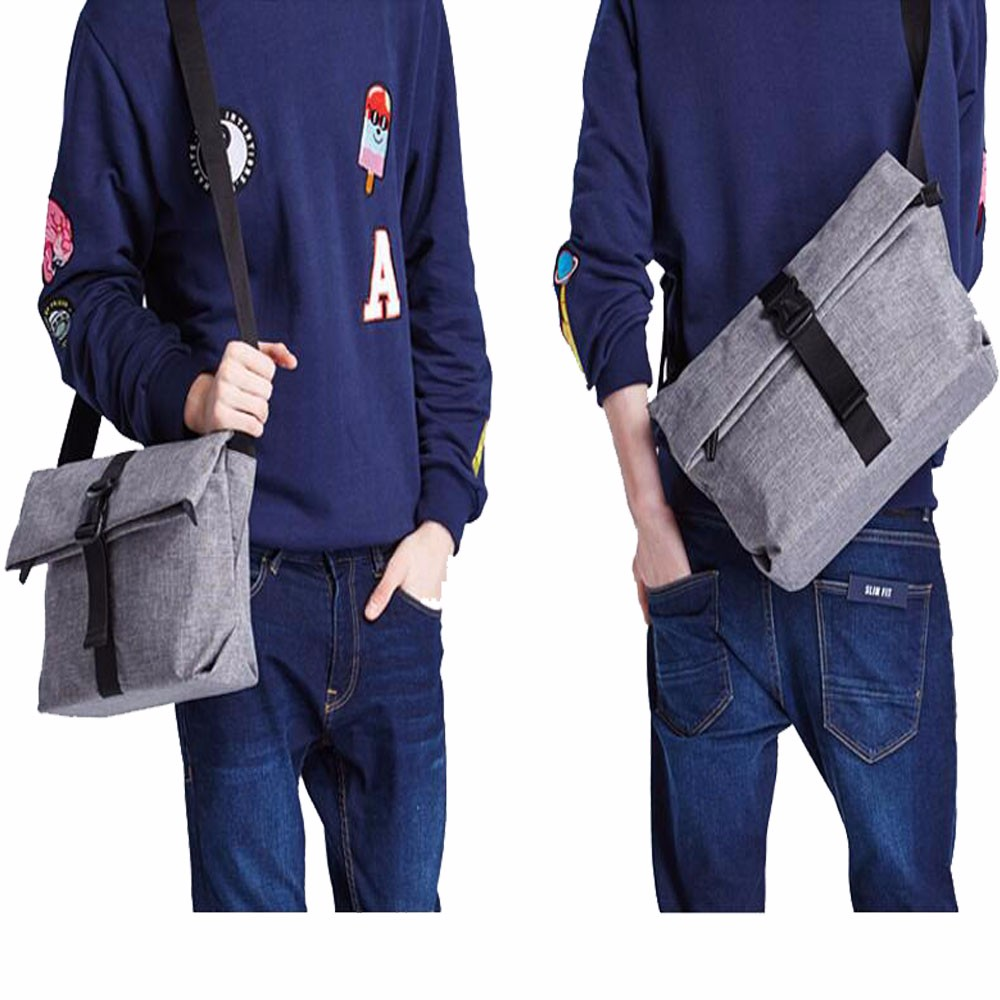 Foldable single strap back bag chest outdoor sport sling bag for men