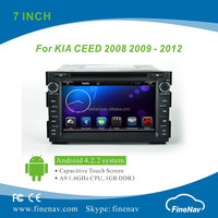 "7"" Android 4.2.2 Car DVD Player for CEED with Gps Navi,3G,Wifi,Bluetooth,Ipod Support Rear View Camera,DVR"