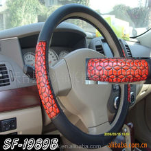 Bus Steering Wheel Cover With Seat Belt Manufacture