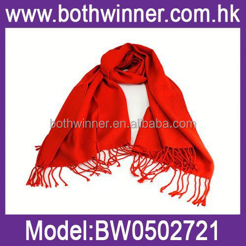 SF 217 knitted hand work pure cashmere scarves