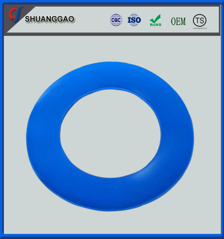 OEM acceptable high plastic filled PTFE fireproof sealing gasket