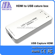 High Quality Hd HDMI Video Capture USB3.0 Support 1080P Input Resulution For Windows /Linux /OS X/macOS