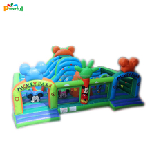 Commercial giant inflatable playgrounds inflatable indoor playground for sale