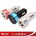 Manufacture dual usb car charger for iphone 7 iphone 6 iphone 5 car charger has cheap price