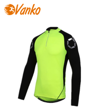 Durable Quick Dry Flashlight Cycling Bike Long Sleeve Jersey Sports Mesh Breathable Jersey