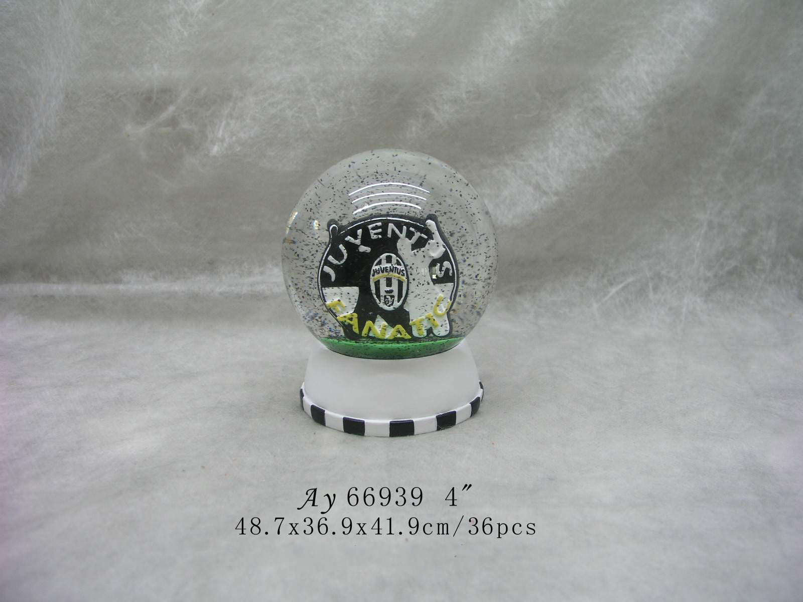 80MM Lighthouse building plastic snow globe souvenir