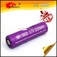 High capacity 18650 IMREN 18650 2250mAh 40a 3.7V Rechargeable Battery Cell ncm 18650