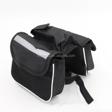 Bike Rear Bag thicker rack straps Lengthened Shoulder Strap waterproof Nylon Bicycle Seat Trunk Bag