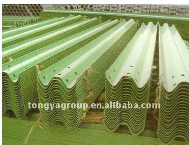 Hot dip galvanizing two wave highway guard rail price