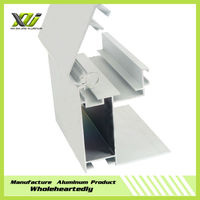 Custom made extruded aluminum box