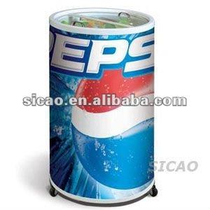 75l instant beverage cooler round beverage coolers pepsi display coolers for promotion - Beverage Coolers