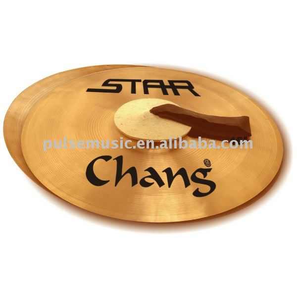 CHANG brass hand cymbal percussion instrument