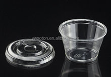 0.75-5.5oz Disposable Souffle Cups Plastic Sauce Cup With Lid