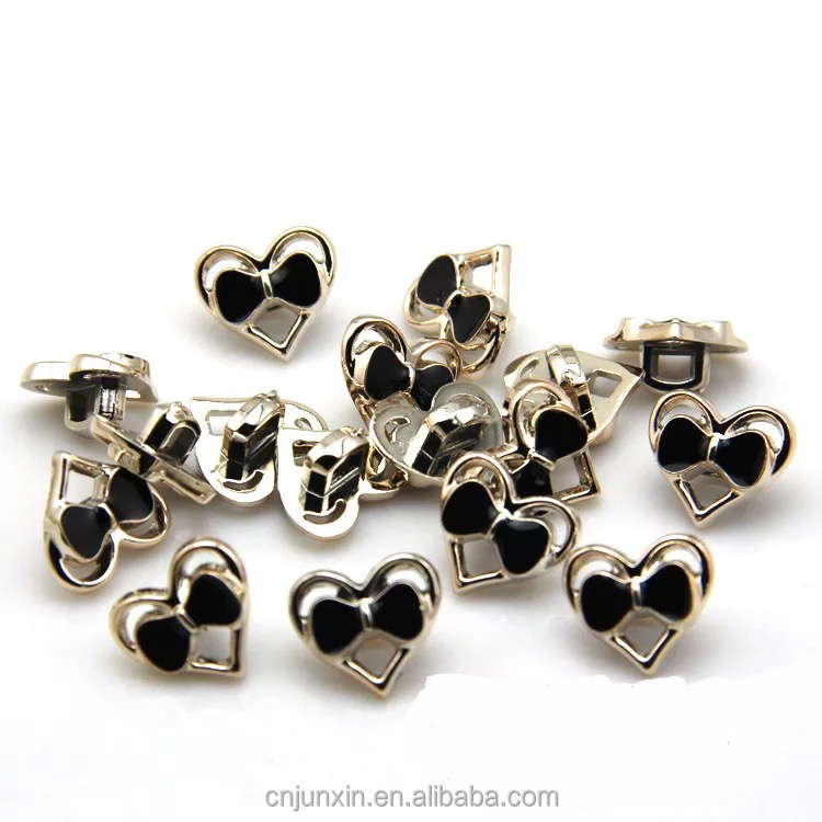 new fashion design butterfly pattern metal ladies' coat button for Scrapbook Sewing Accessories