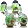 China acrylic clear floor stand used custom fish tank