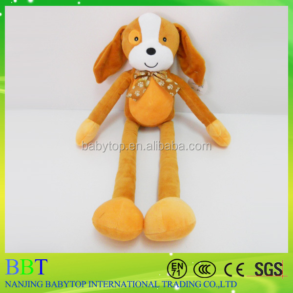 New arrival educational stuffed plush long legs dog toy